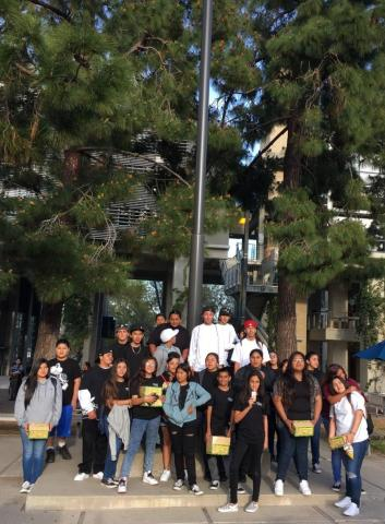 Soboba Tribal TANF took about 35 Native American youth to the 11th annual Dream the Impossible conference at University of California, San Diego on March 18