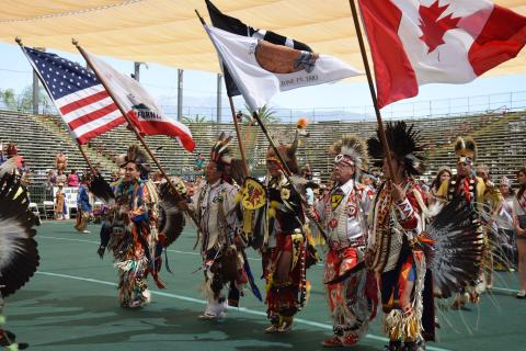 The Grand Entry at last year's Soboba Inter-Tribal Powwow marked its official start. The 21st annual celebration will be Sept. 15-17