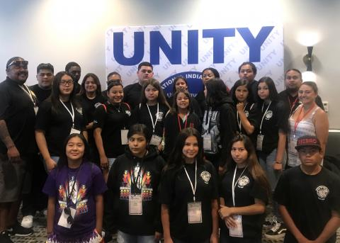 Youth from the Soboba Tribal TANF took part in the 42nd annual UNITY youth conference in San Diego earlier this month