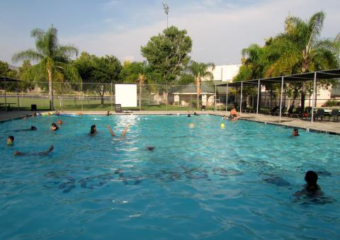 The Soboba Sports Complex pool was the place to be on Aug. 17 for the End of Summer Bash