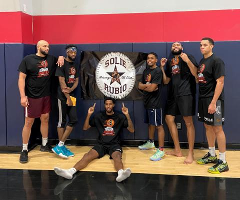 Supreme Black Leather took first place at the Soboba Braves Summer Shootout open basketball tournament, which ended July 11
