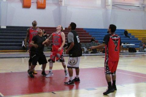 Soboba Braves played Gametime on March 4 as part of its weekend basketball tournament at Soboba Sports Complex