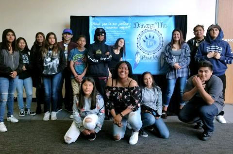 Members of Soboba Tribal T.A.N.F. attended the 12th annual Dream the Impossible youth conference at Cal State, San Marcos on April 21