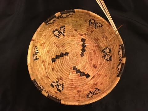 A hand woven Cahuilla basket bowl will be one of the most unique items up for auction at the fifth annual Soboba Foundation & Soboba Casino Charity Golf Tournament on April 7