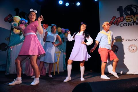 Performers for the Ramona Bowl garnered a first-place win, and $5,000, at the 10th annual Lip Sync Contest presented by Soboba Foundation and Soboba Casino on June 23. The nonprofit has entered each year since the contest began