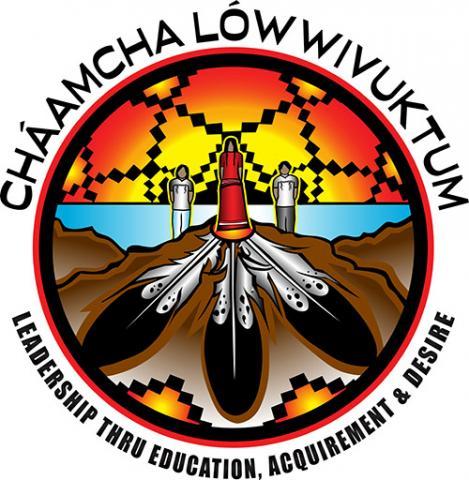 Cháamcha Lówwivuktum Logo