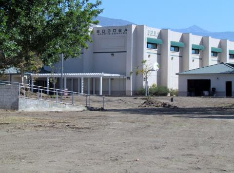 The Soboba Sports Complex is undergoing renovation to add more amenities and space for those that use it