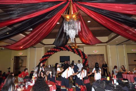Family and friends celebrated Soboba youth at the tribe's annual Academic Achievement Awards Ceremony on July 28 at The Country Club at Soboba Springs