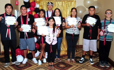 Silver Achievement students honored by Soboba on Aug. 4