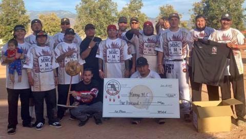 The Morongo Men's Club were the top team at the recent N.I.A.A. All Native Fastpitch Softball Tournament hosted by the Soboba Band of Luiseño Indians from Sept. 20-22.