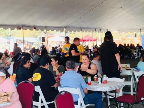 More than 1,300 visitors attended the Soboba Truck Fiesta on its first day at the Soboba Casino Resort outdoor event area