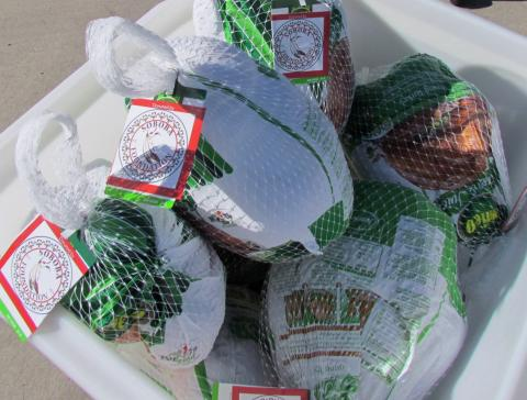 Soboba Foundation donated turkeys to needy families from both the Hemet and San Jacinto unified school districts. They were distributed on Nov. 23 at San Jacinto's District Office