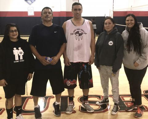 Co-ed volleyball team Sugar and Spike were the overall winners for the season at the Soboba Sports Complex, besting 10 other teams to be named champions