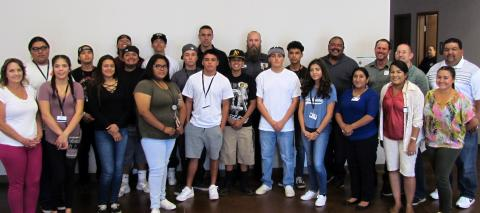 A summer program at Soboba will allow 14 youth to gain valuable work experience. The participants met with their supervisors and some administrators at a meet and great luncheon on June 22